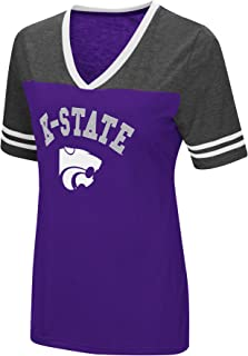Colosseum Women's NCAA Varsity Jersey V-Neck T-Shirt