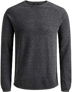 Jack & Jones Men's Jjehill Knit Crew Neck Noos Sweater