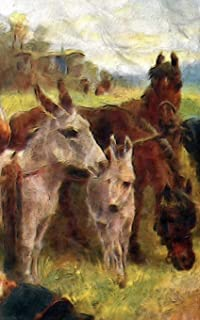 """Notebook: Gathering of Friends Farm Outdoors Horse Pony Notebook 5"""" x 8"""" 150 Ruled Pages"""