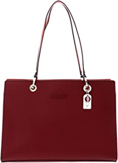 Guess Isla Elite Carryall, Bags Satchel Donna, Merlot Multi, One Size