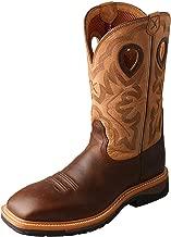 Twisted X Men's Lite Cowboy Work Boot Steel Toe - Mlcs019
