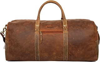 Best 24 inch leather duffle bag Reviews