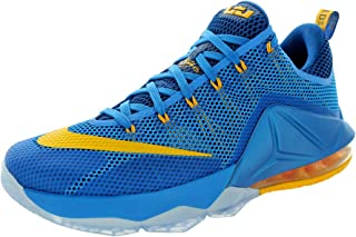 lebron low blue and yellow