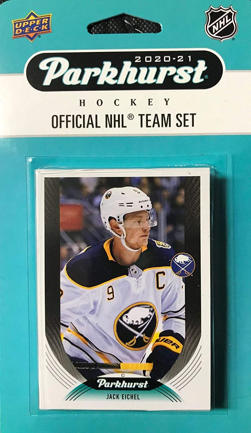 Buffalo Sabres 2020 2021 Upper Deck Card Sealed Factory Department store Team Max 52% OFF 10