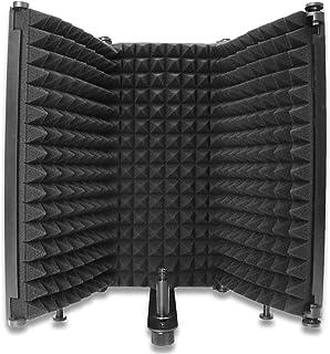 Escudo painel tela cabine de isolamento acústico blindagem para microfone em estúdio soundproof refletor sonoro f32