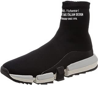 Diesel Men's H-padola High Sock-Sneak Sneaker