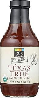 365 Everyday Value, Organic Texas True Barbecue Sauce, 18 oz