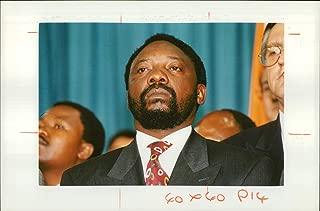 Vintage photo of Cyril Ramaphosa