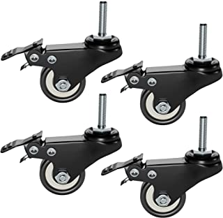 Plixio Piano Keyboard Stand Caster Wheels Set of 4 Replaceme