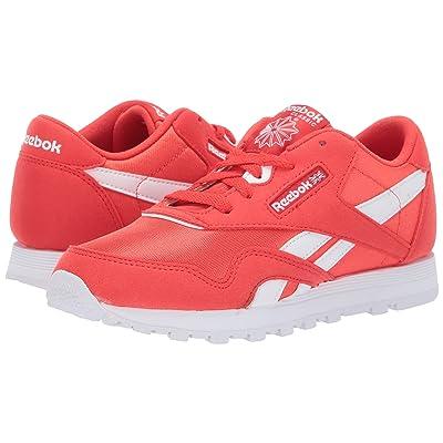 Reebok Kids Classic Nylon MU (Little Kid) (Red/White) Kids Shoes