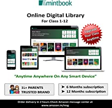 Mintbook Online Digital Library Access Code for Children From Class 1 to 12 (12 Months Subscription -Access Code/ E-Mail D...