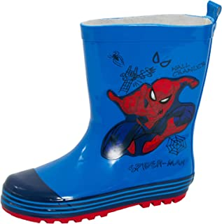 MARVEL Botas de goma Wellington para niños de Spiderman