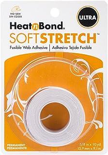 """HeatnBond HeatnBond Ultra Soft Stretch 5/8in x 10yd roll, 3540, Clear, 5/8"""" x 10 yd"""