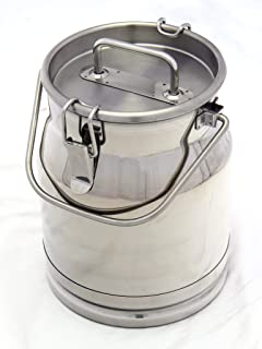 Best 5 gallon stainless milk can Reviews