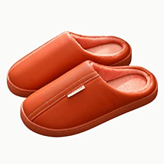 AELEGASN Mens Womens Garden Clogs Waterproof Slippers Unisex Mules Lightweight Winter Warm Shoes Furry Clogs with Linning ...