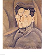 Portrait of Maurice Raynal by Juan Gris Art Print, 24 x 32 inches