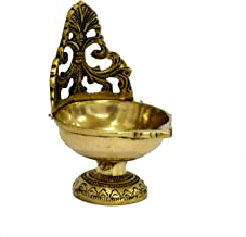 "WIGANO 5.5"" Genuine Brass Diya 