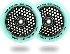 Honeycore Scooter Wheels - Scooter Wheels 110mm Pair - Honeycomb Scooter Wheels - Pro Scooter Wheels - 24mm x 110mm - Bearings Installed - 90 Day Warranty - Scooter for Kids - Scooter Parts