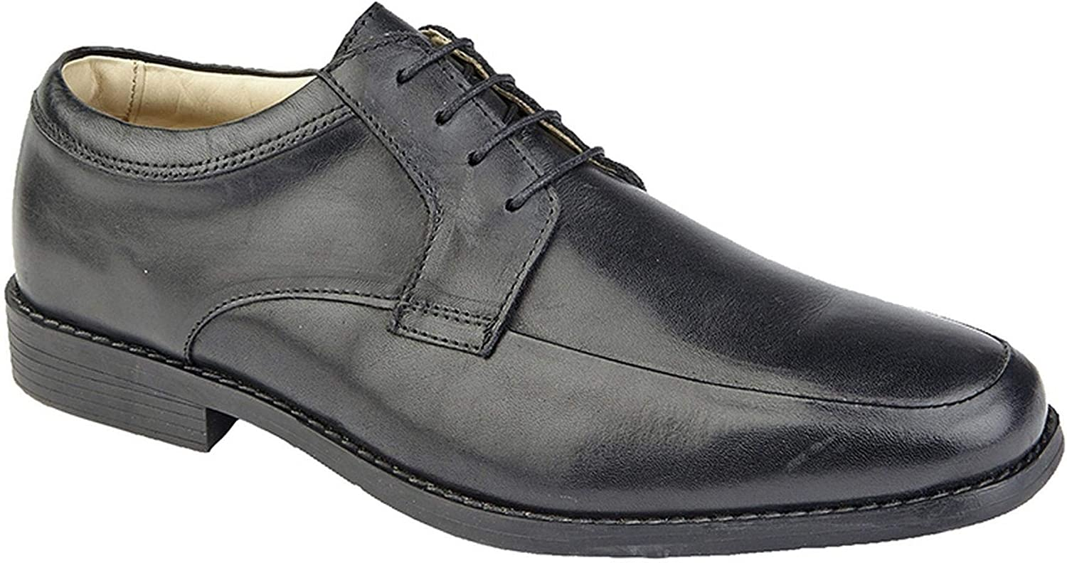 75be11b918d0e Lace Leather Mens up Smart 7-12 Size shoes Formal Gibson Apron Dress ...