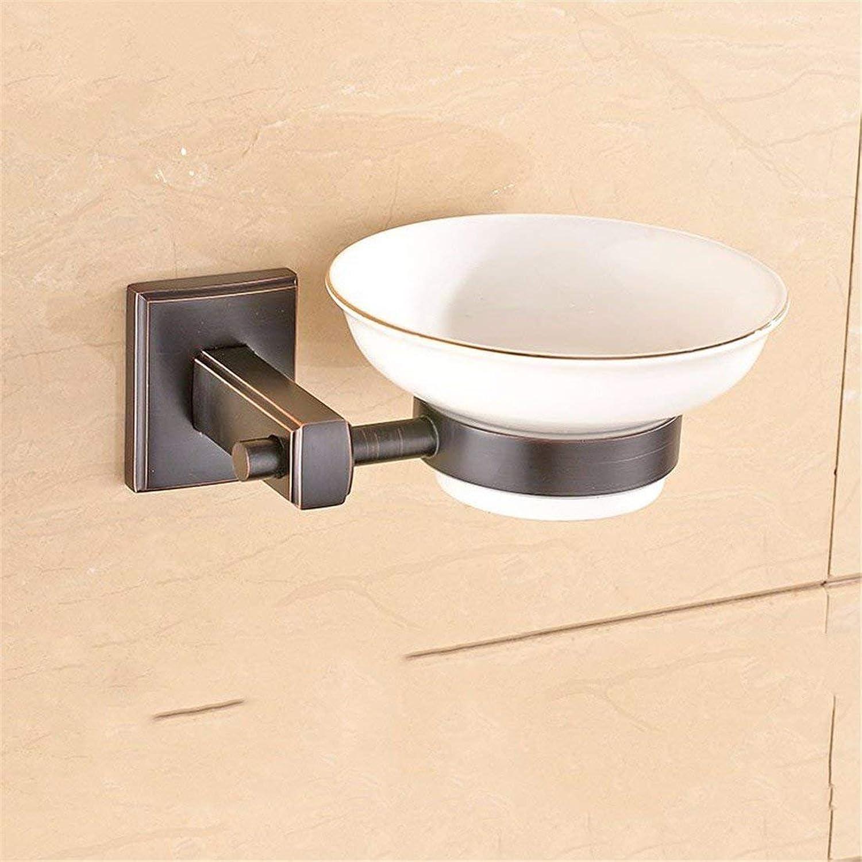 Black Copper Simple Bronze Accessories of European Room Door Hook Paper Together Door-soap, Door-Soap