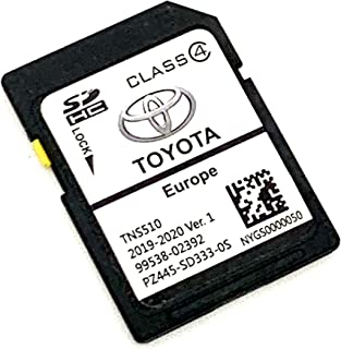 Cover All Europe Latest SD Card for 2019//2020 for Toyota Navigation SD Card Map TNS510 V1 PZ445-SD333-0S Part Number