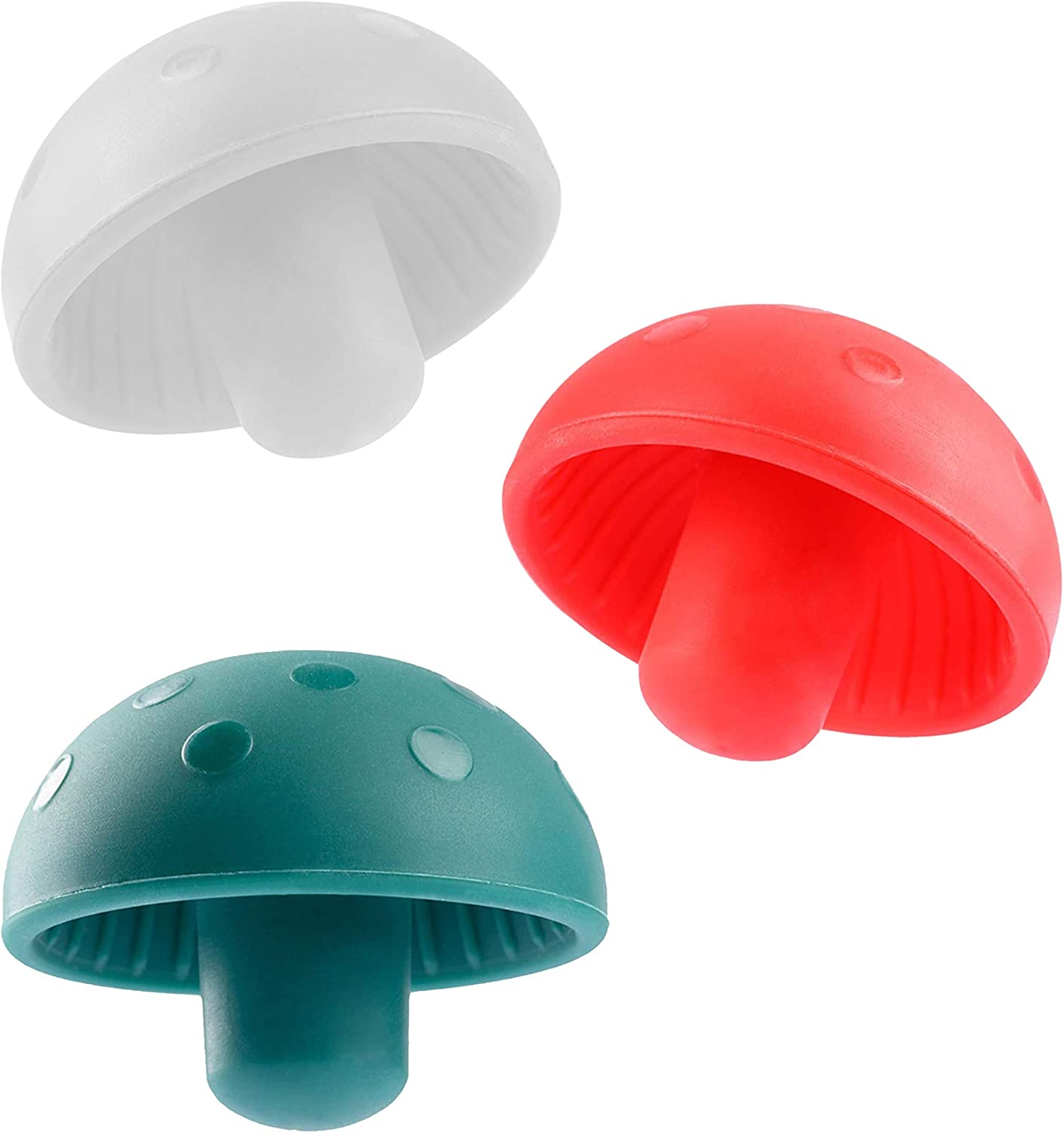 Selling and selling Mushroom Silicone Wine Stoppers Bottle Cover New product! New type Beer Reusable