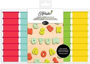 Sweet Sugarbelle Cookie CUTTR 40P Alpha Numb, Mini Alpha & Number Set