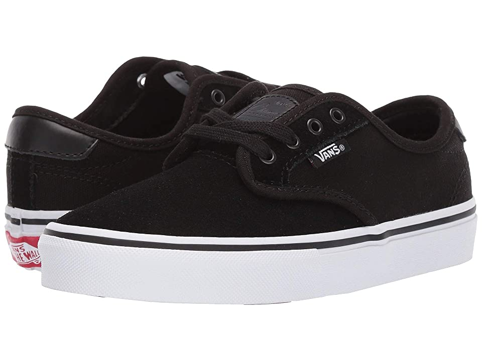 Vans Kids Chima Ferguson Pro (Little Kid/Big Kid) (Black/True White) Boys Shoes