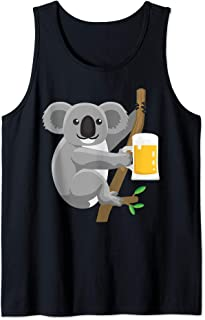 Koala Beer Drinking Tank Top