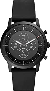 Men's Collider HR Heart Rate Stainless Steel Hybrid Smartwatch