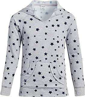 Sponsored Ad - WallFlower Girls' Sweatshirt - Lightweight Pullover Active Hoodie