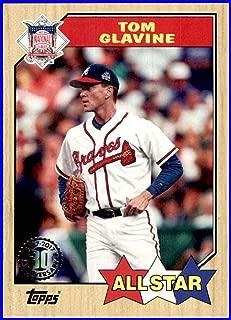 2017 Topps '87 1987#87157 Tom Glavine HOF ATLANTA BRAVES Baseball Card