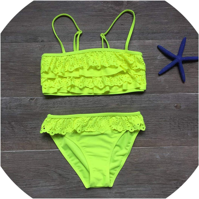 7-16Years Children Swimwear Baby Kids Swimsuit Bikini Girl Bathing Suit