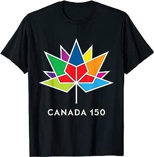 F22 Design: Canada 150 Color Logo T-Shirt