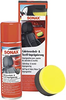 Sonax Soft Top Protection - Professional Waterproof Sealant for Drop Top Convertible Covers, Canvas, Textile Fabric, Alcan...