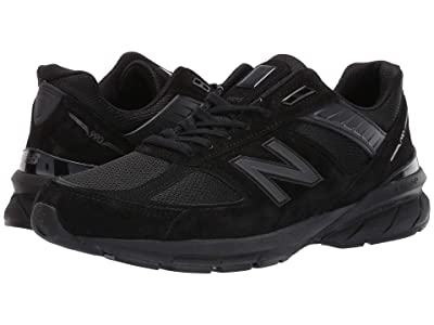 New Balance 990v5 (Black/Black) Men