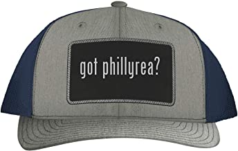 One Legging it Around got Phillyrea? - Leather Black Patch Engraved Trucker Hat