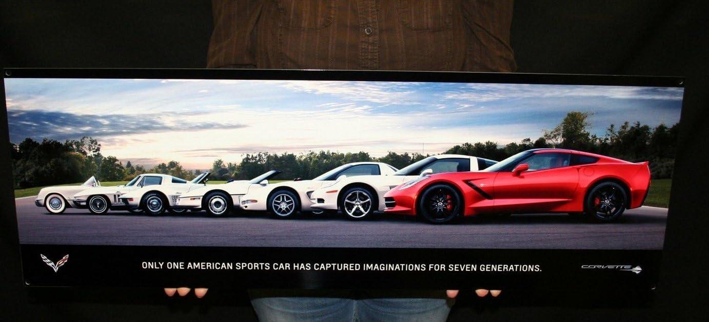 Corvette Ranking TOP5 cheap Metal Sign C7 Stingray Wall Poster Han 2014 Generations