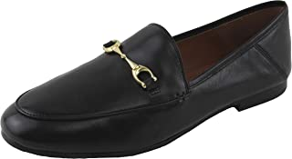 55d33f75a Coach Women's Hayley Solid Smooth Leather Loafers Shoes 10 B US Women in  Black, Style