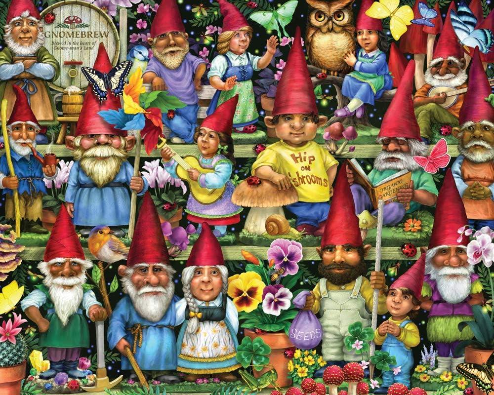 Gnomes Galore Jigsaw Puzzle 1000 Piece