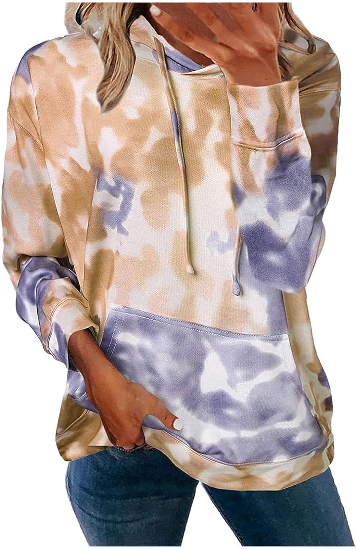 Aniwood Crewneck Sweatshirts for Women Teen Girls Fashion Graphic Hoodie Casual Long Sleeve Drawstring Solid Jackets Coat