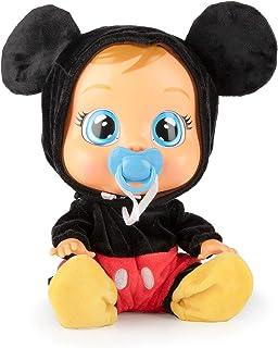 IMC Toys 97858 Disney Mickey Mouse Lloron Baby, kleurrijk