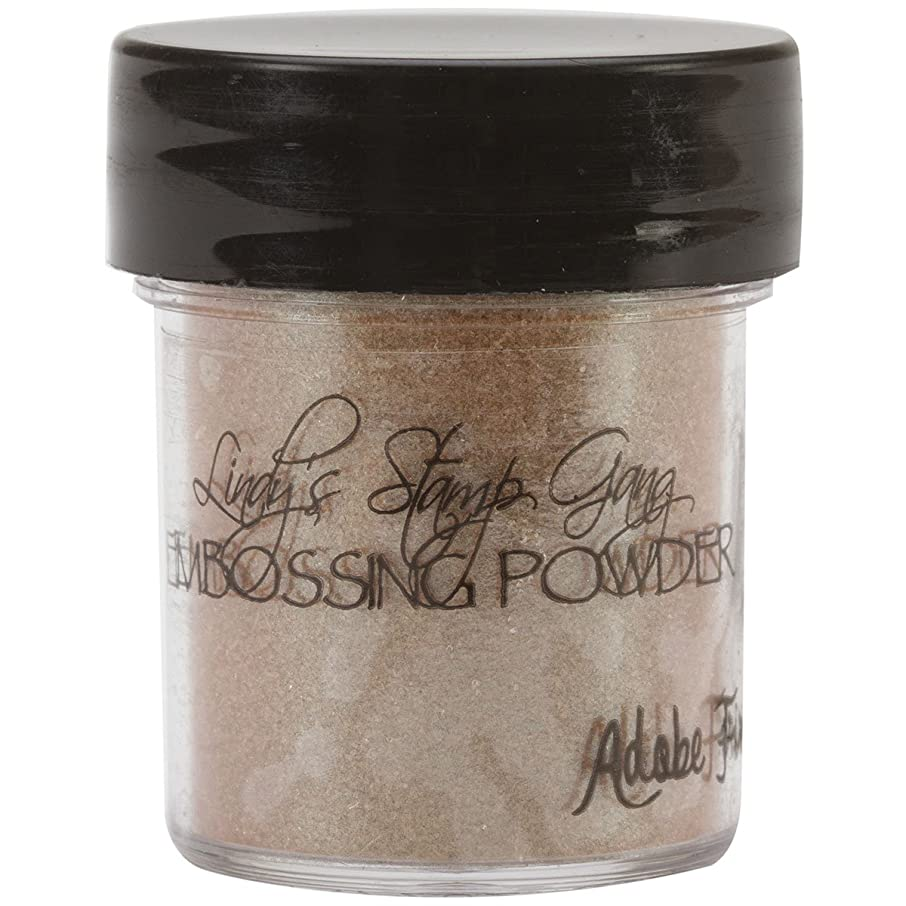 Lindy's Stamp Gang 2-Tone Embossing Powder, 0.5-Ounce Jar, Adobe Fire