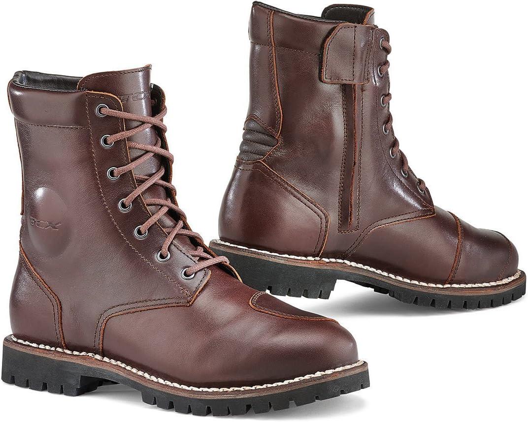 Amazon.com: TCX Men's NC Motorcycle Boots, Vintage Brown, men10 d(m)  us=44eu: Automotive