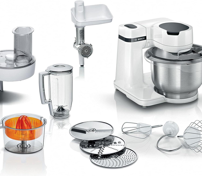Bosch MUM Serie   2 - Robot de cocina, potencia de 7000 W, 4 velocidades, color negro