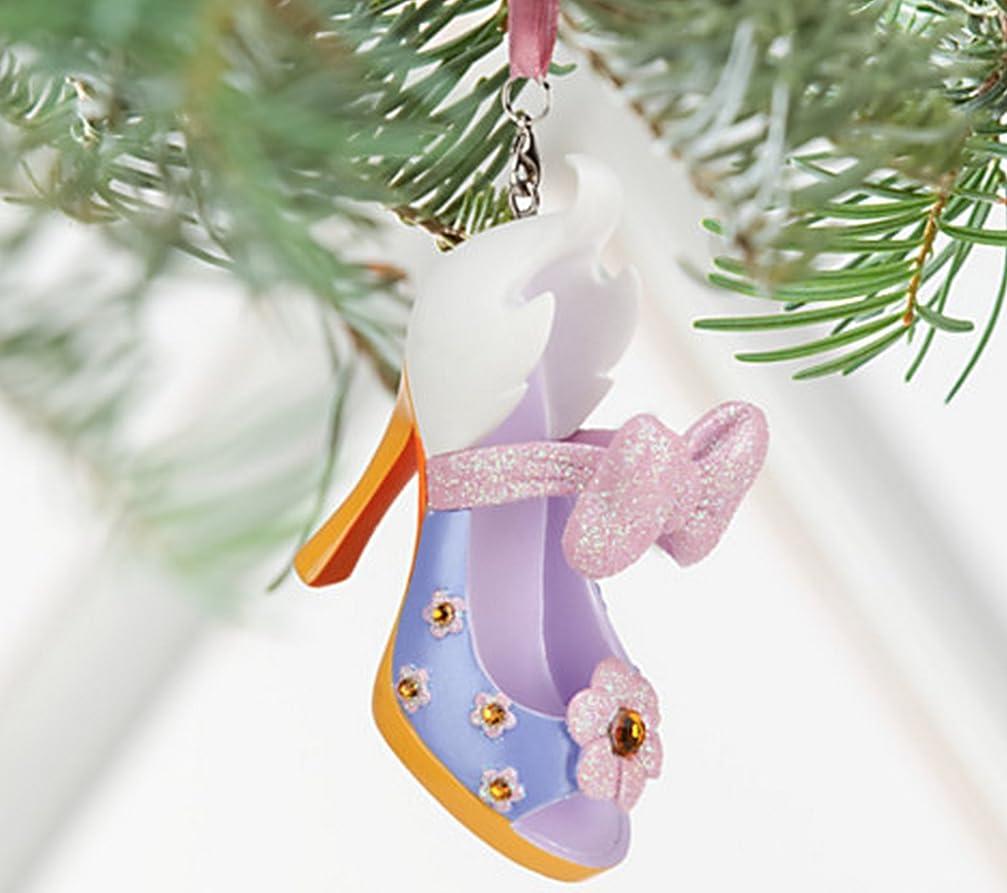 最小化するガス混合ディズニー 靴のオーナメント (Disney Shoe Ornament) デイジーダック