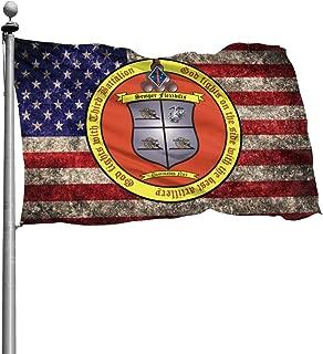 3rd Battalion, 11th Marines Flag 4X6 Foot Banner Flags Garden Flag Home House Flags Outdoor Flag
