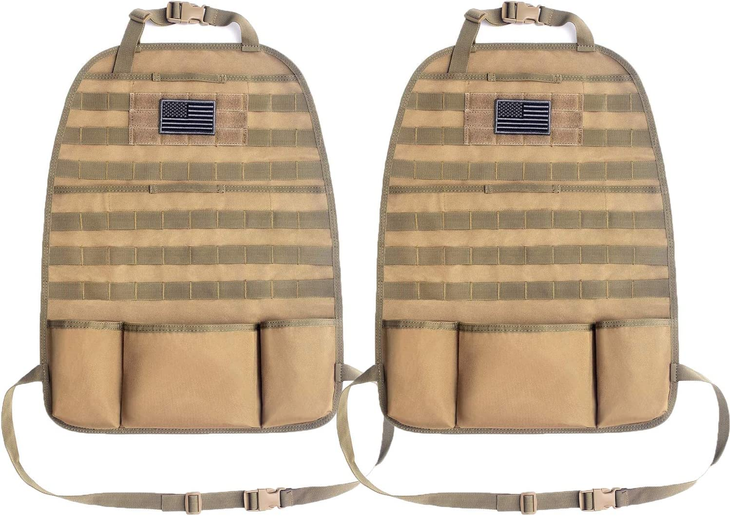 Tacticool Car Seat Back Organizer Tactical Special price - Molle Vehi Upgraded Sale SALE% OFF