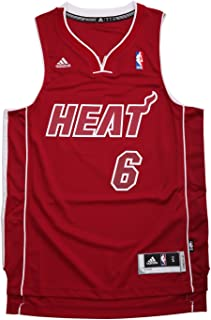 adidas Miami Heat Lebron James Pride Swingman Revolution 30 Jersey