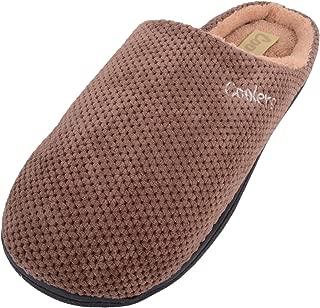 Absolute Footwear Mens Slip On Microsuede Mules/Slippers/Indoor Shoes